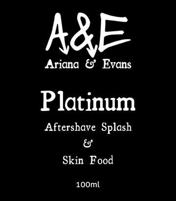 Ariana & Evans - Platinum - Aftershave image