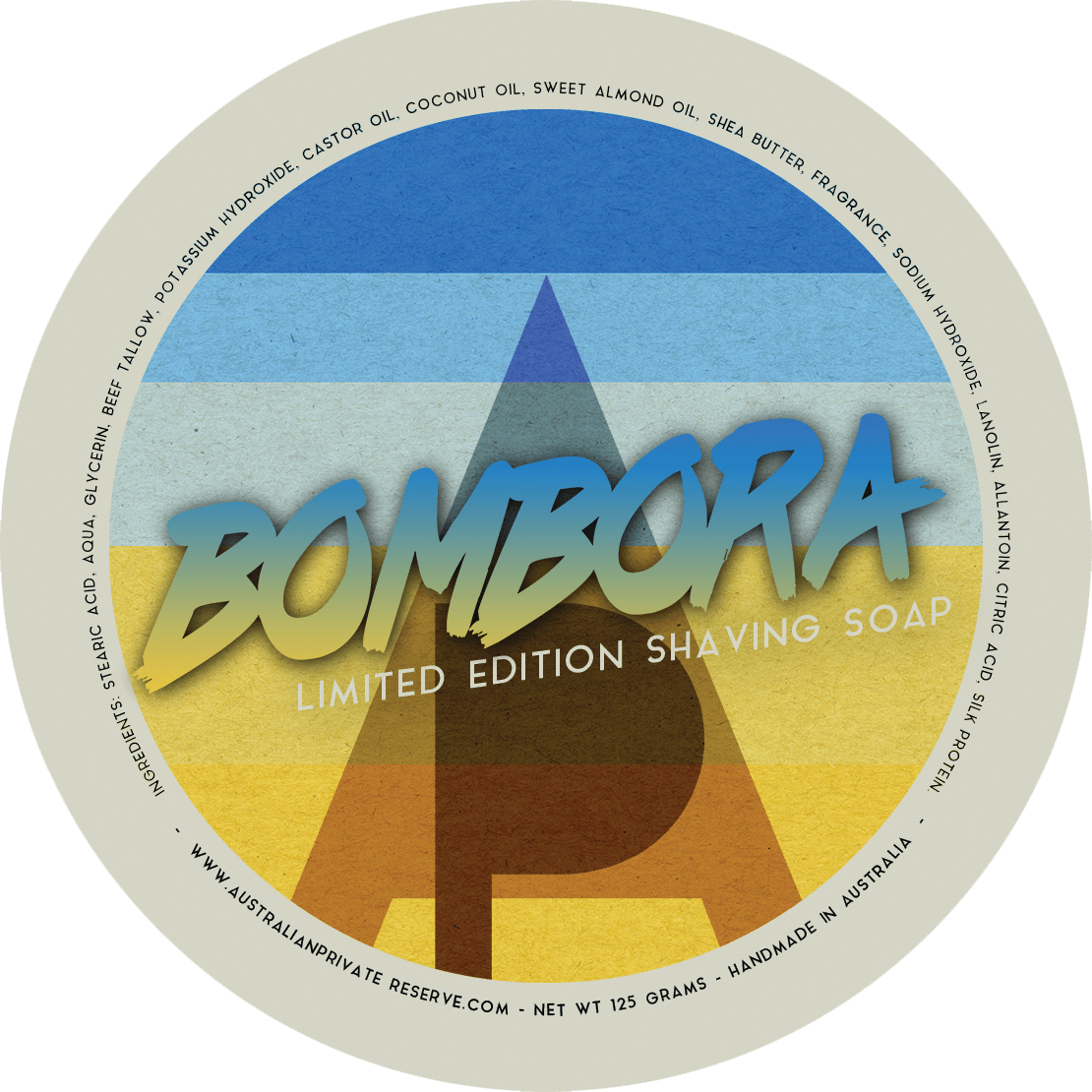 Australian Private Reserve - Bombora - Soap image
