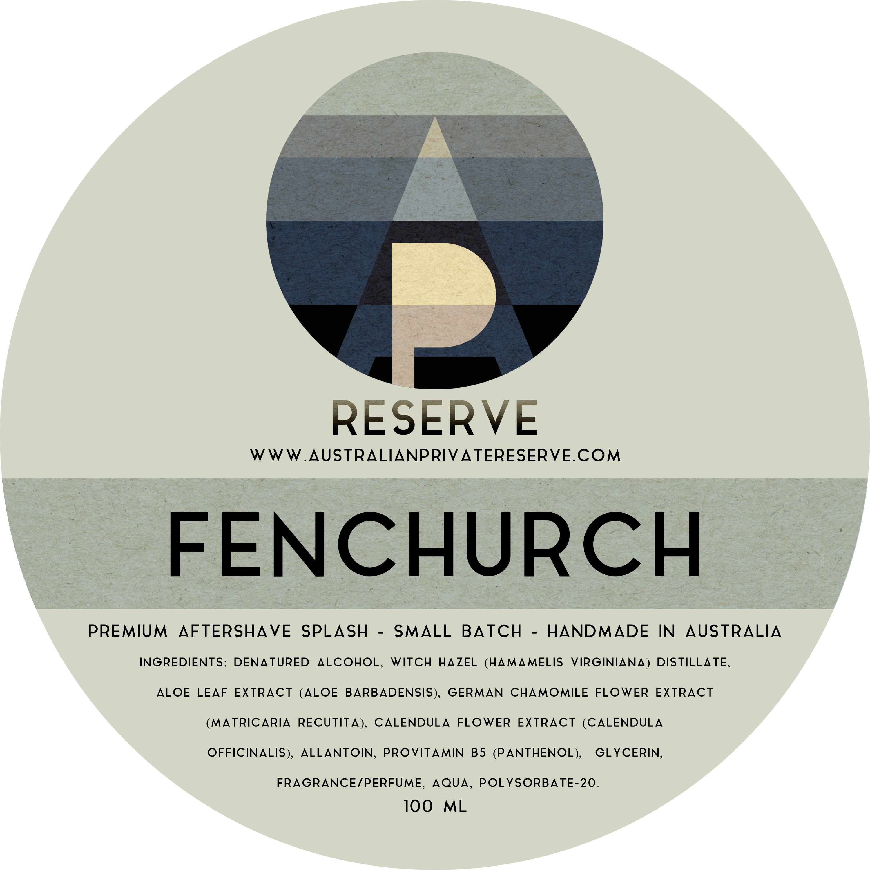 Australian Private Reserve - Fenchurch - Aftershave image