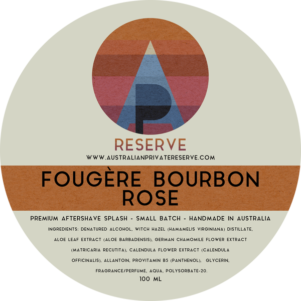 Australian Private Reserve - Fougère Bourbon Rose - Aftershave image