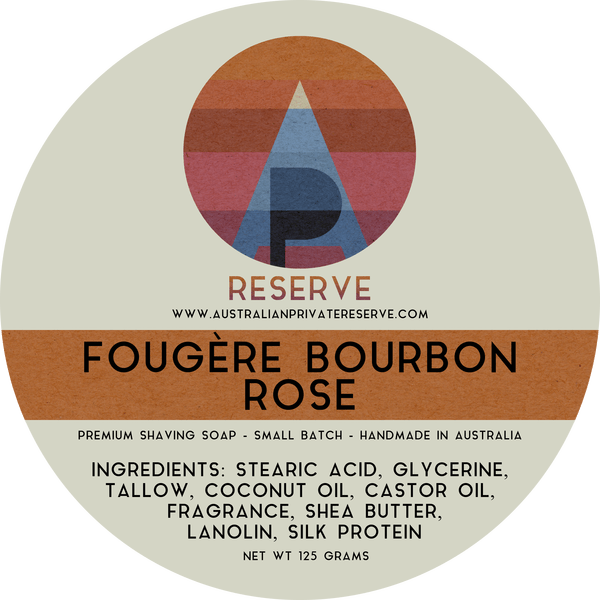 Australian Private Reserve - Fougère Bourbon Rose - Soap image