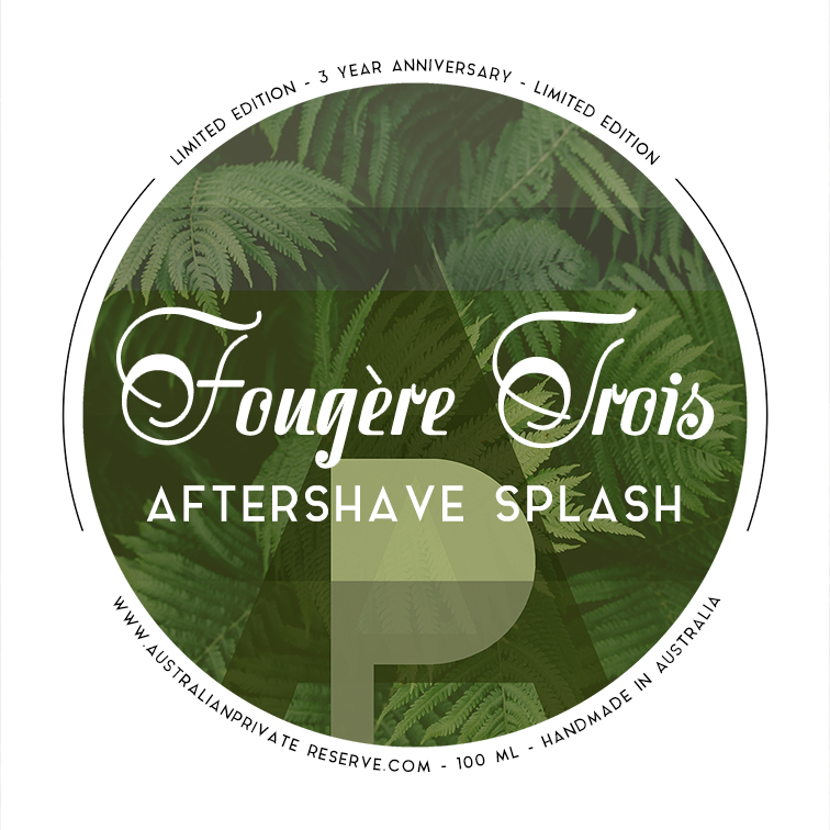 Australian Private Reserve - Fougère Trois - Aftershave image