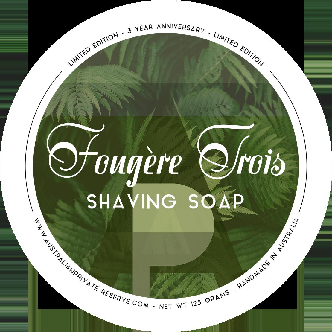 Australian Private Reserve - Fougère Trois - Soap image