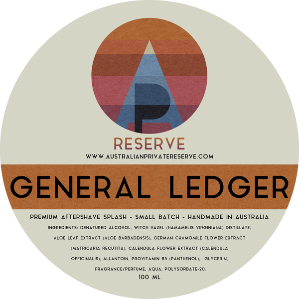 Australian Private Reserve - General Ledger - Aftershave image