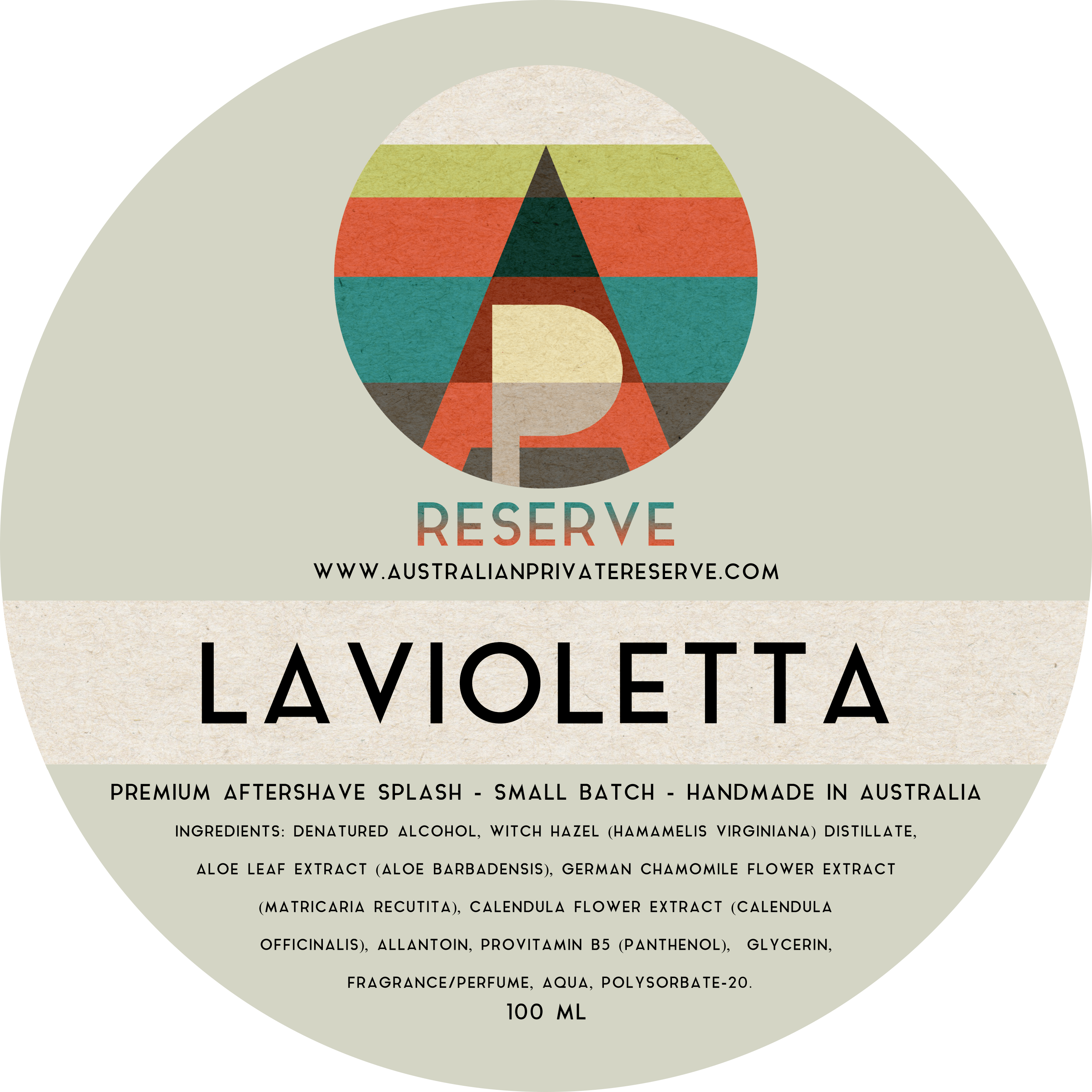 Australian Private Reserve - Lavioletta - Aftershave image