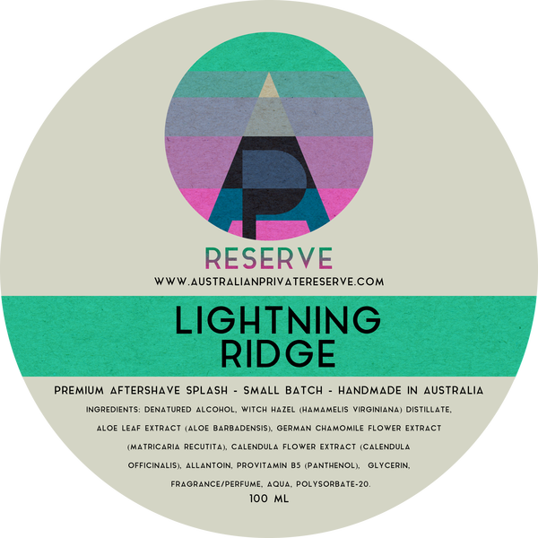 Australian Private Reserve - Lightning Ridge - Aftershave image