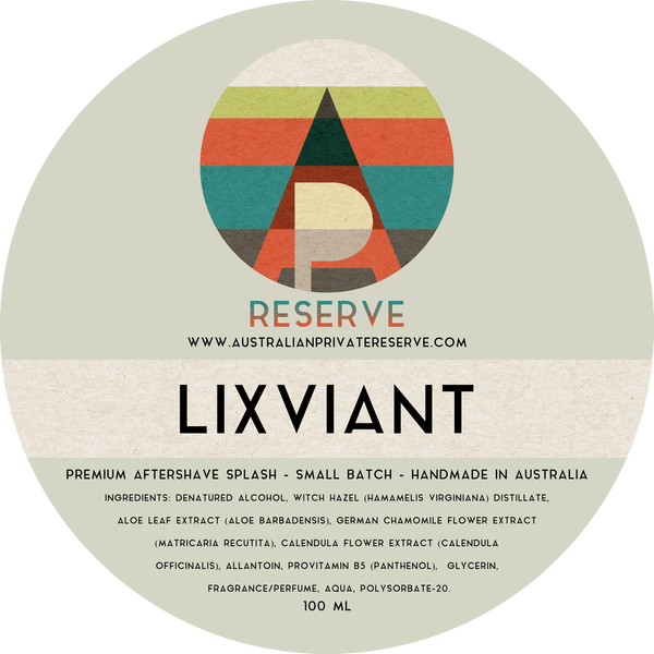 Australian Private Reserve - Lixiviant - Aftershave image