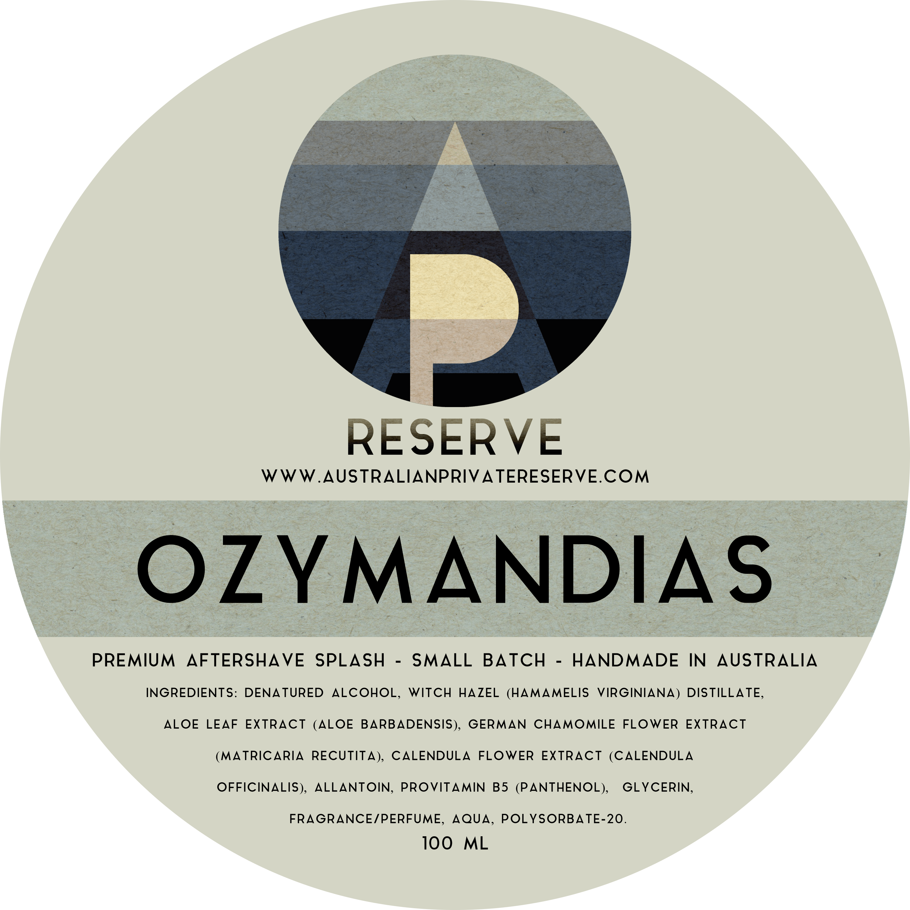 Australian Private Reserve - Ozymandias - Aftershave image