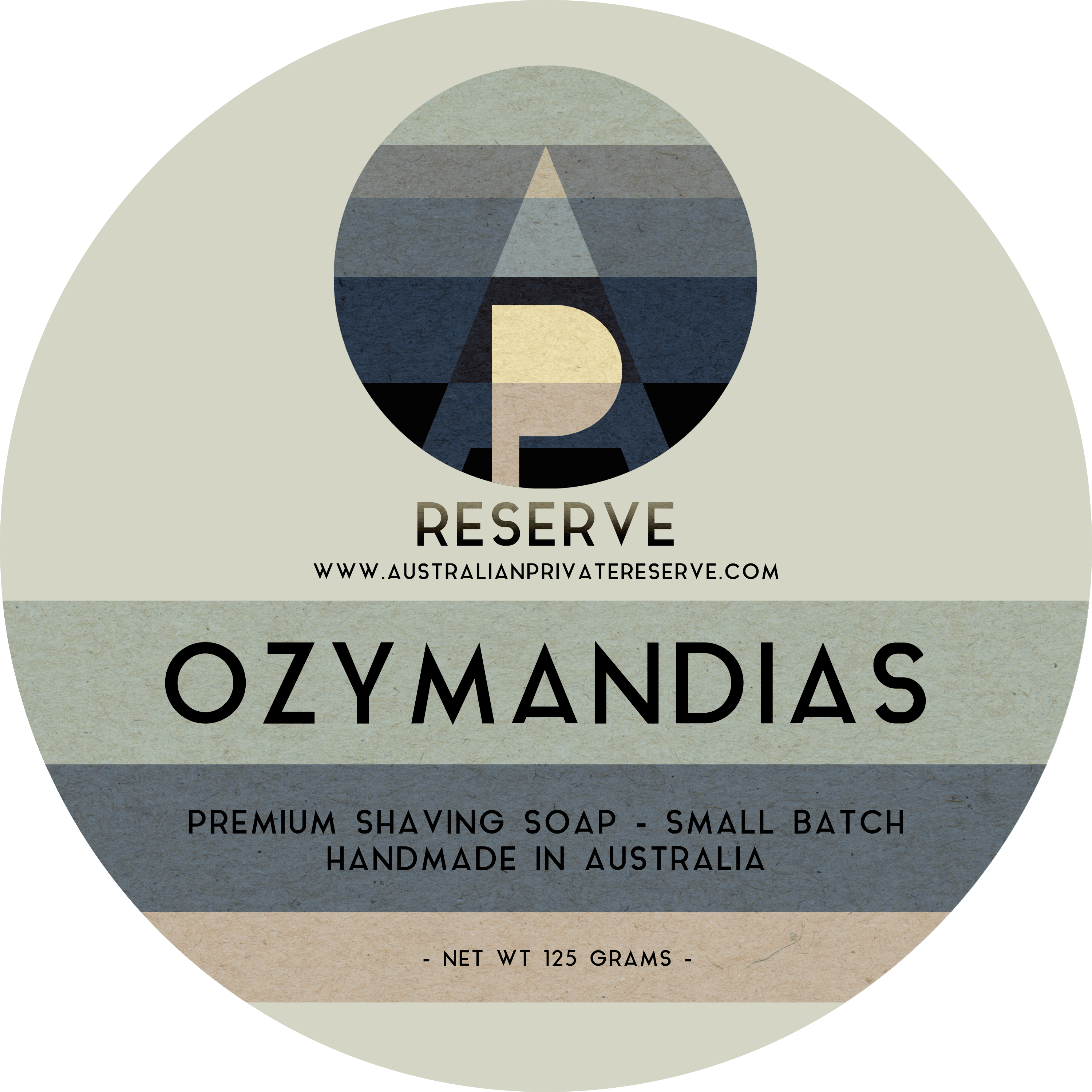 Australian Private Reserve - Ozymandias - Soap image