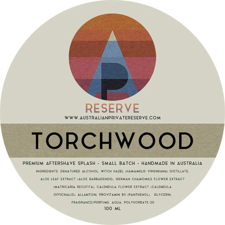 Australian Private Reserve - Torchwood - Aftershave image