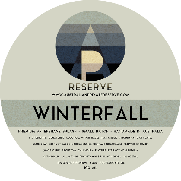 Australian Private Reserve - Winterfall - Aftershave image