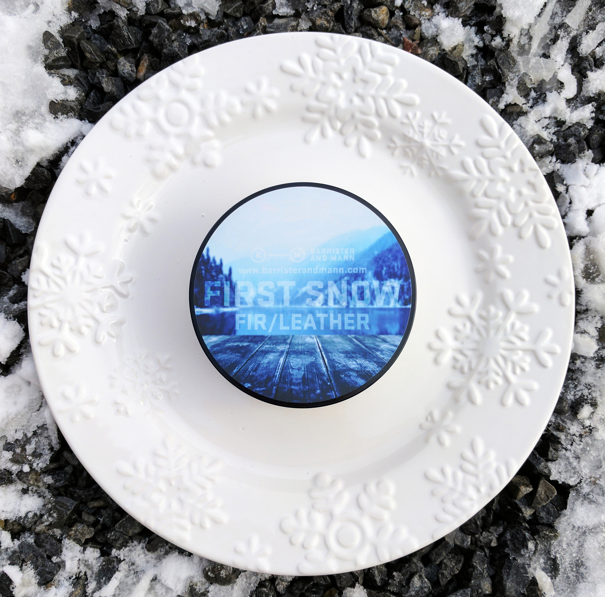 Barrister and Mann - First Snow - Soap image