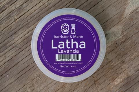 Barrister and Mann - Latha Lavanda - Soap image
