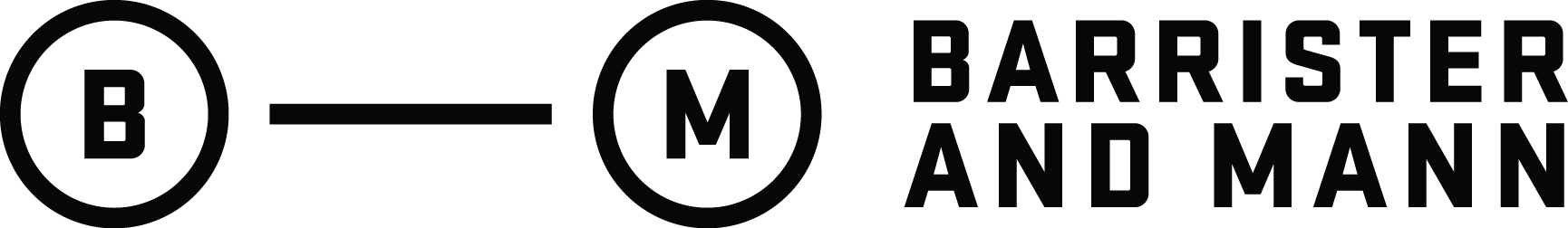 Barrister and Mann logo