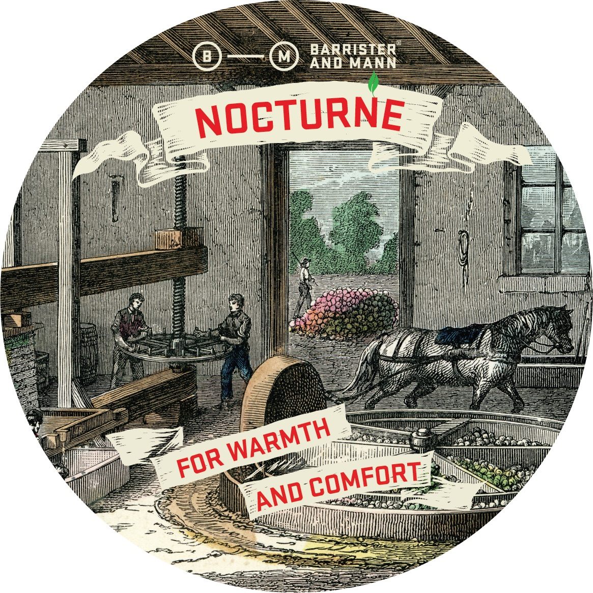 Barrister and Mann - Nocturne - Soap image