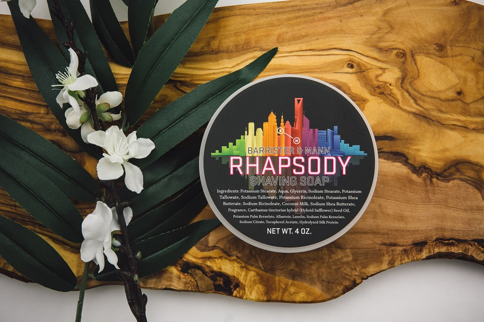Barrister and Mann - Rhapsody - Soap image