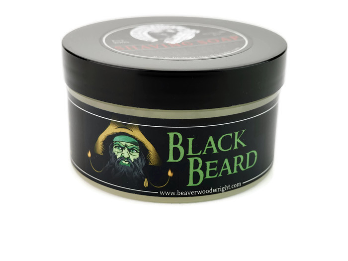 Black Ship Grooming - Black Beard - Soap image