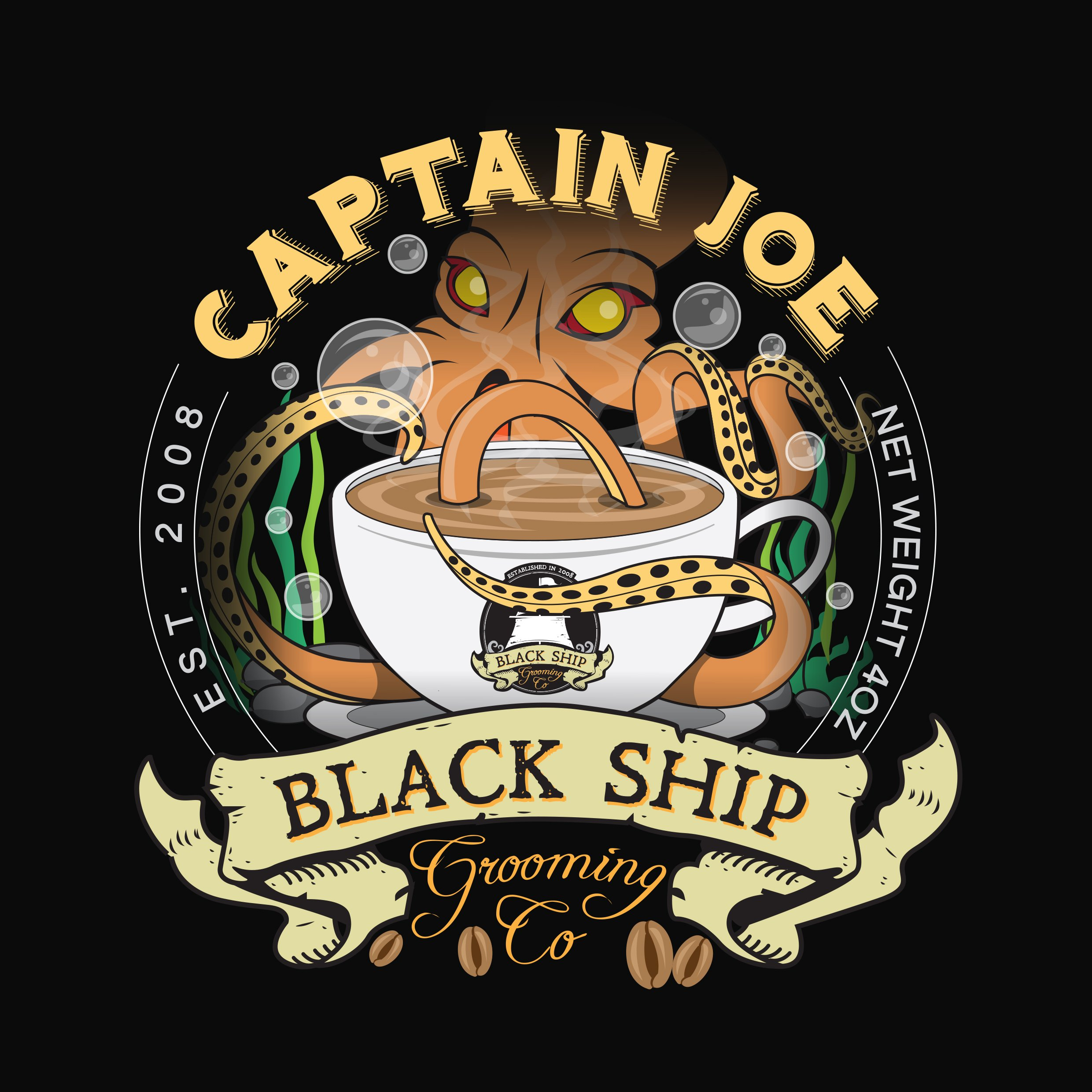 Black Ship Grooming - Captain Joe - Aftershave image