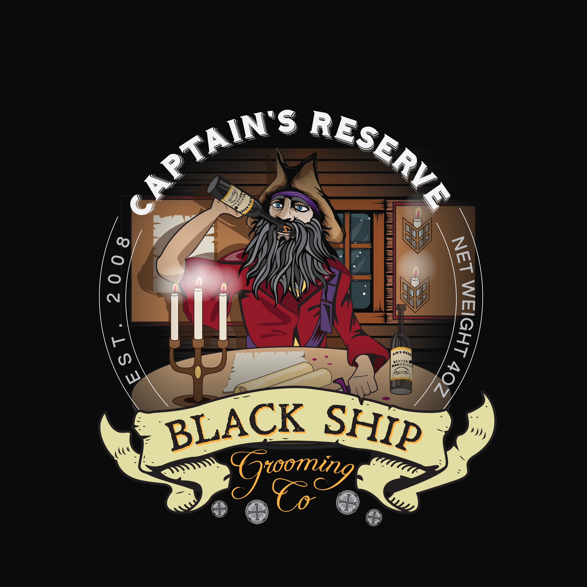 Black Ship Grooming - Captain's Reserve - Aftershave image