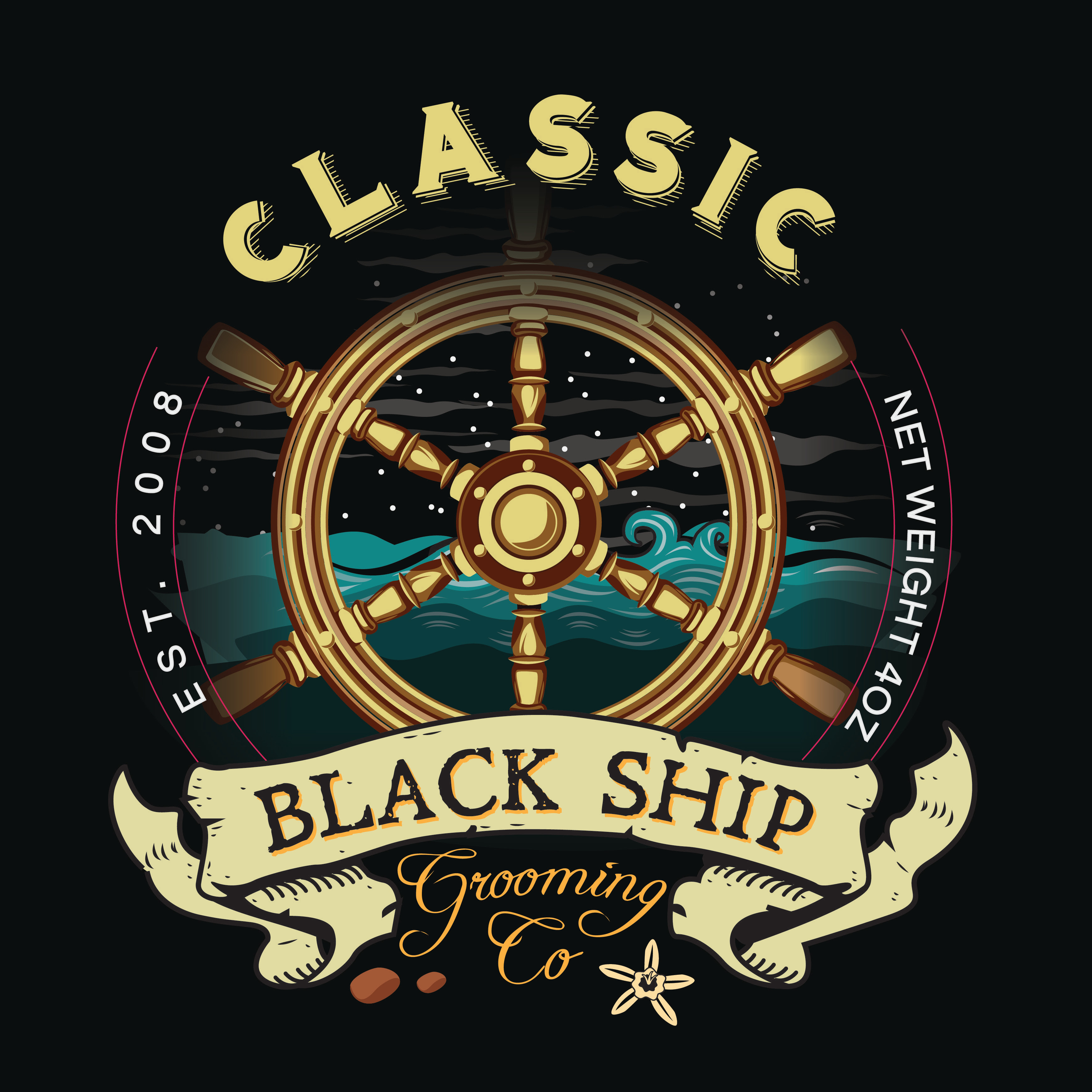 Black Ship Grooming - Classic - Aftershave image