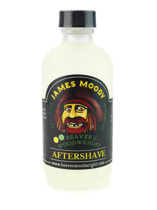 Black Ship Grooming - James Moody - Aftershave image