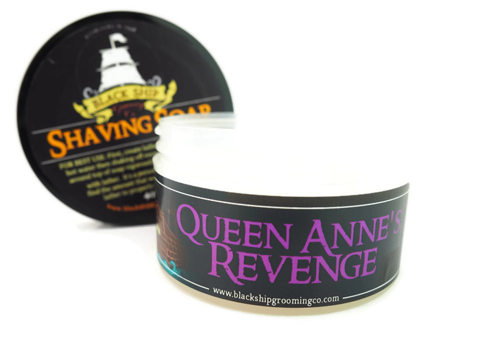 Black Ship Grooming - Queen Anne's Revenge - Soap image
