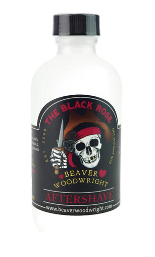 Black Ship Grooming - The Black Rose - Aftershave image
