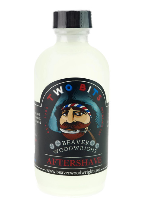 Black Ship Grooming - Two Bits - Aftershave image