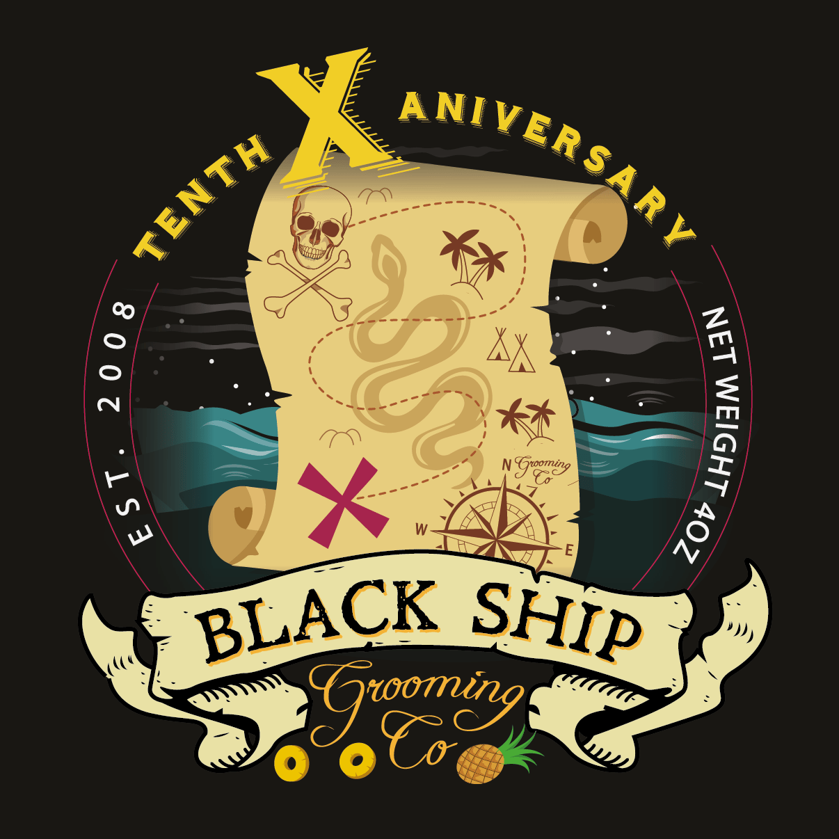Black Ship Grooming - X - Aftershave image