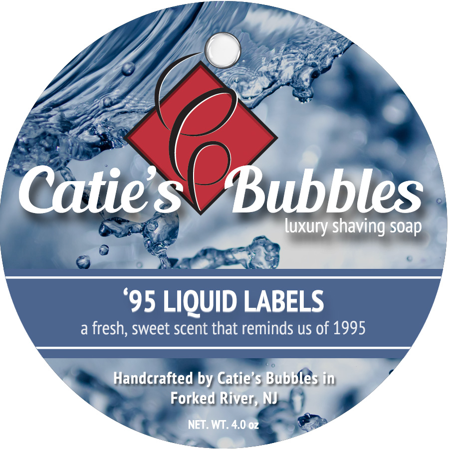 Catie's Bubbles - '95 Liquid Labels - Soap image