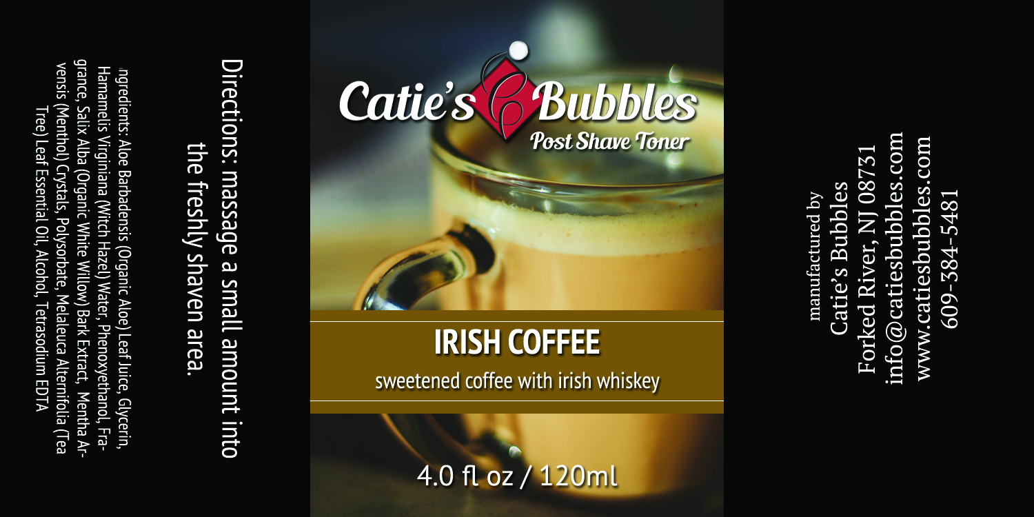 Catie's Bubbles - Irish Coffee - Toner image