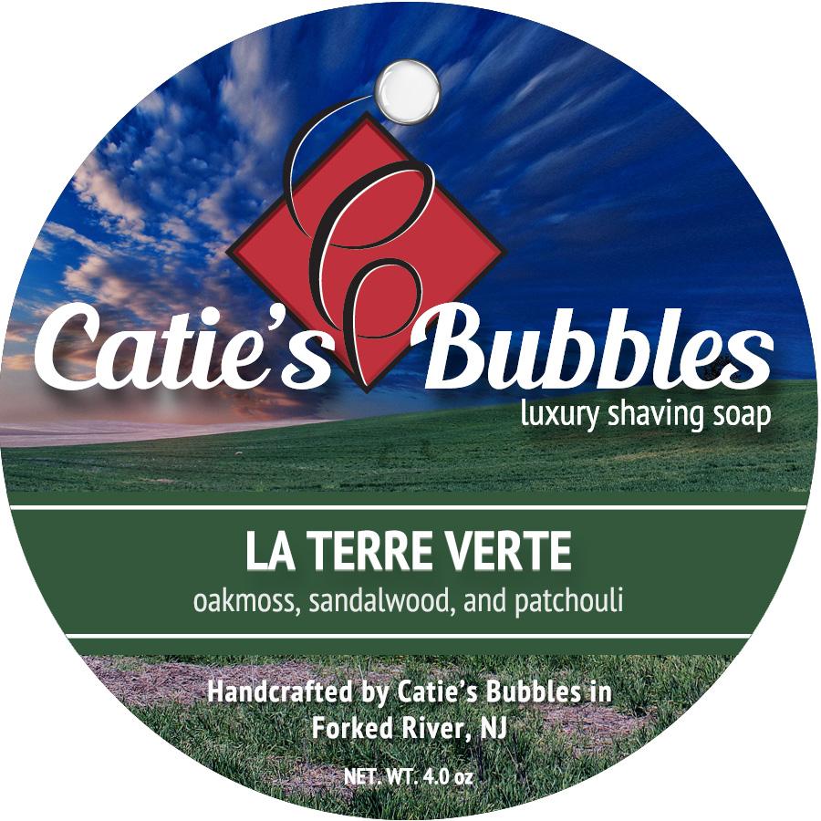 Catie's Bubbles - La Terre Verte - Soap image