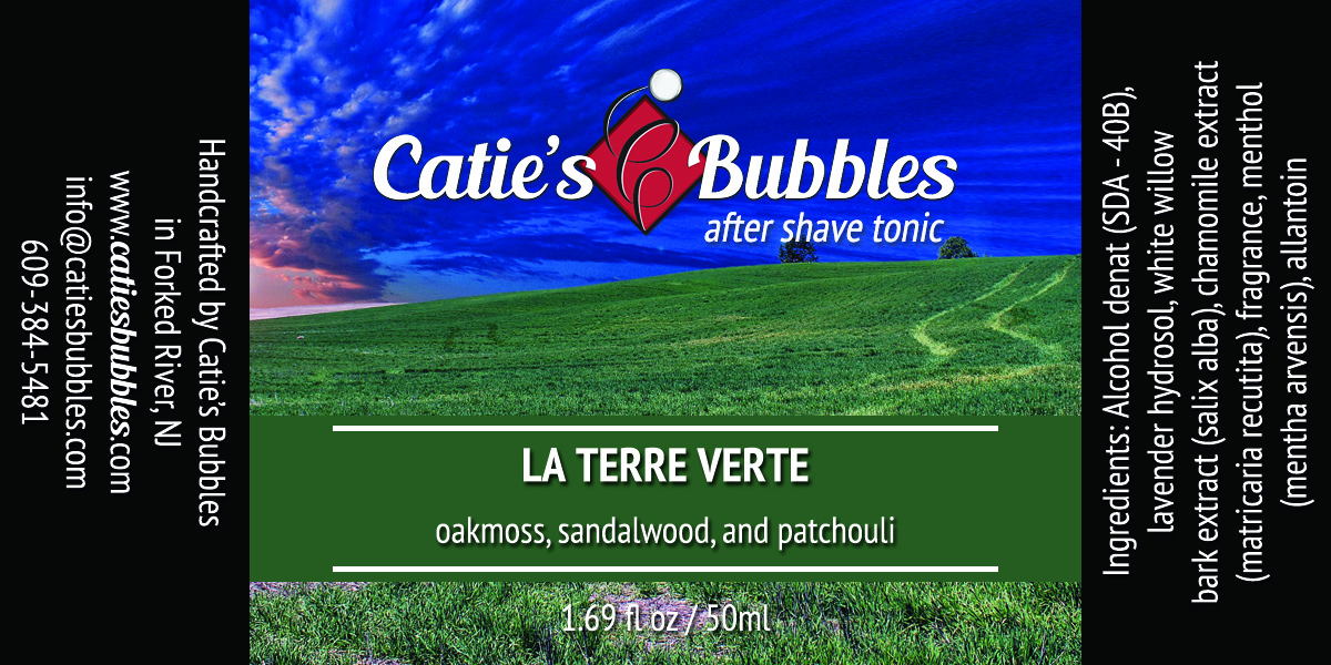 Catie's Bubbles - La Terre Verte - Aftershave image