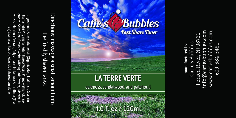 Catie's Bubbles - La Terre Verte - Toner image