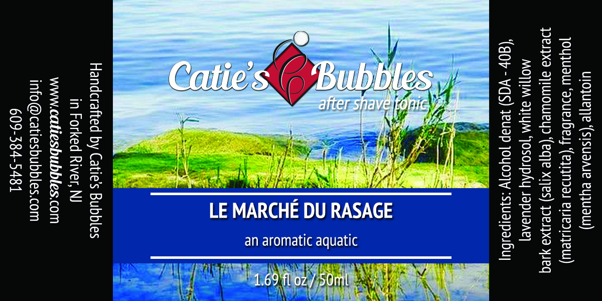 Catie's Bubbles - Le Marche du Rasage - Aftershave image