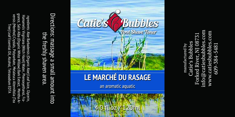 Catie's Bubbles - Le Marche du Rasage - Toner image