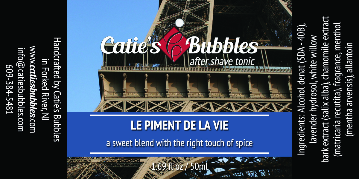 Catie's Bubbles - Le Piment de la Vie - Aftershave image
