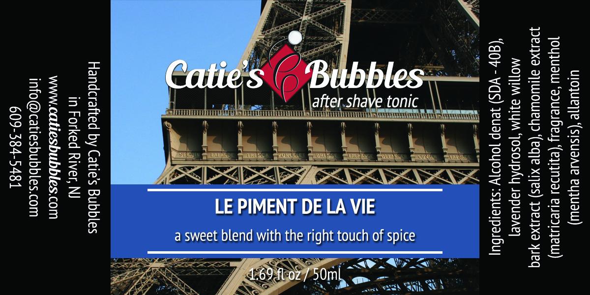 Catie's Bubbles - Le Piment de la Vie - Aftershave image