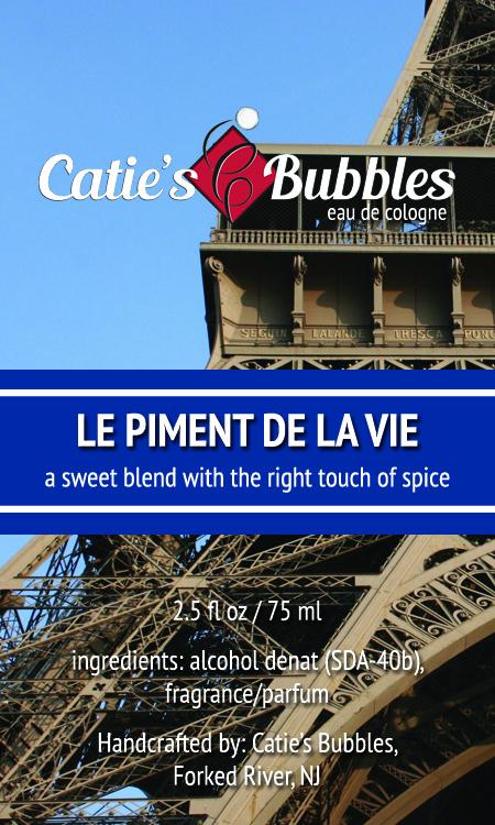 Catie's Bubbles - Le Piment de la Vie - Eau de Toilette image