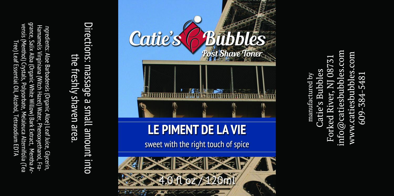 Catie's Bubbles - Le Piment de la Vie - Toner image