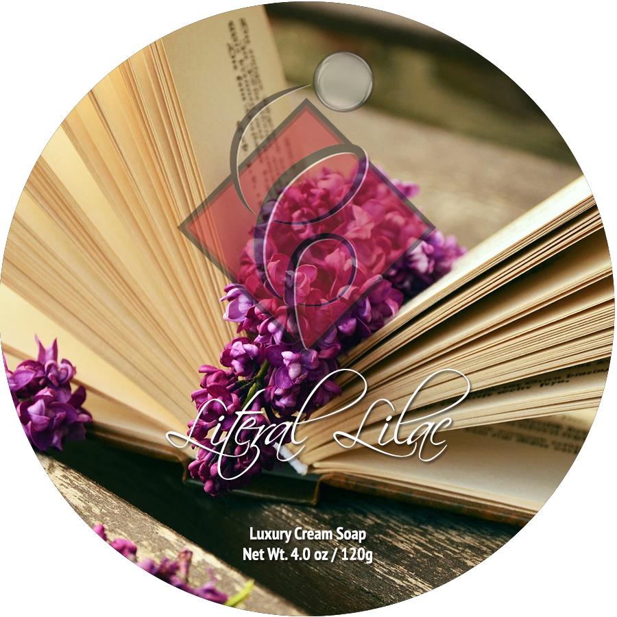 Catie's Bubbles - Literal Lilac - Cream image