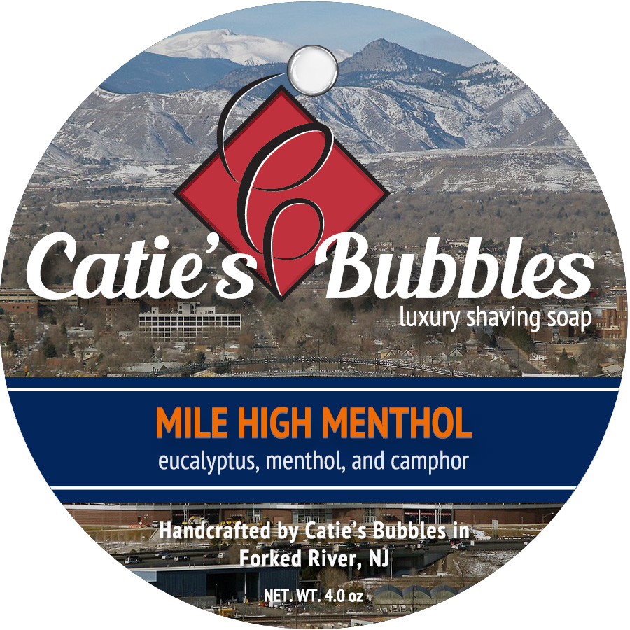 Catie's Bubbles - Mile High Menthol - Soap image