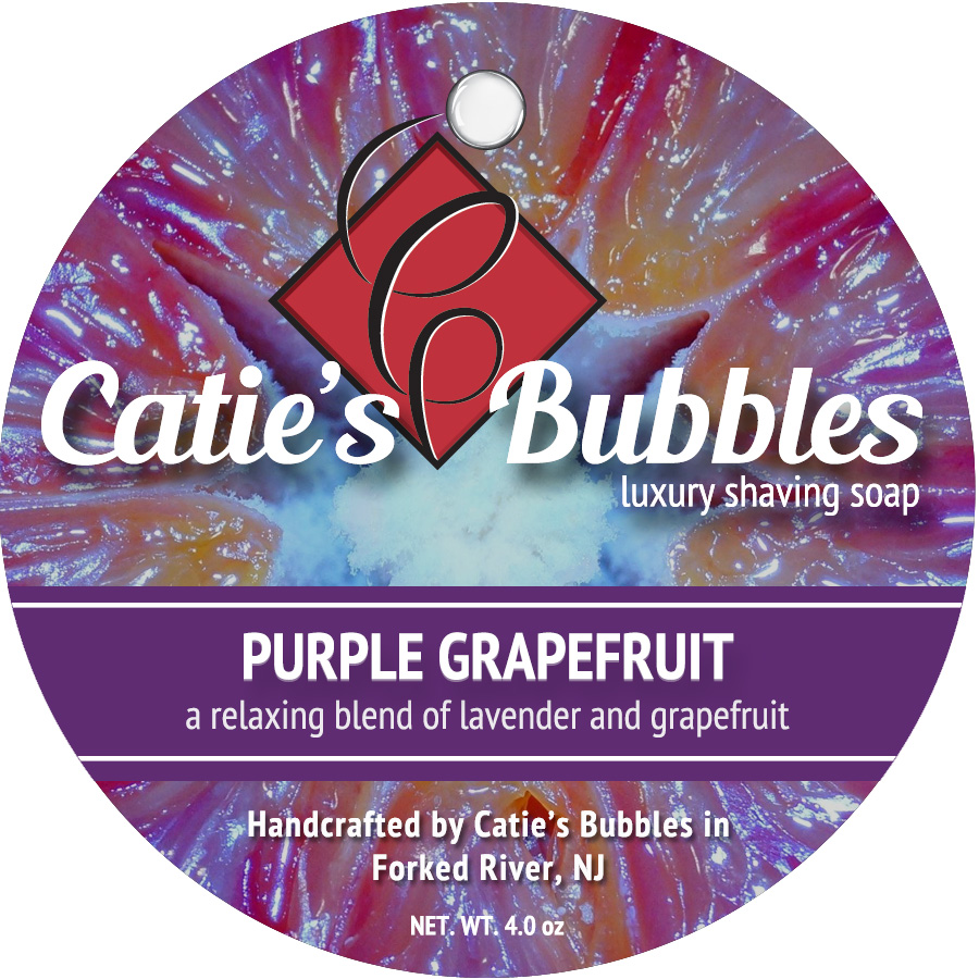 Catie's Bubbles - Purple Grapefruit - Soap image