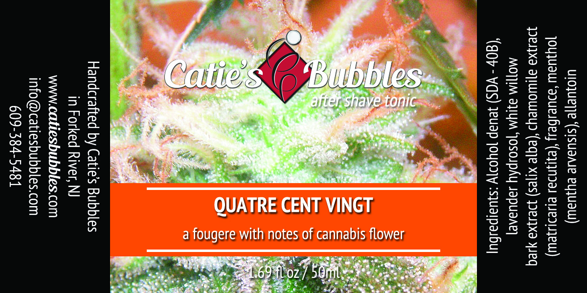 Catie's Bubbles - Quatre Cent Vingt - Aftershave image