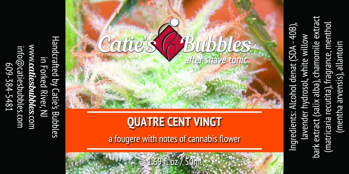 Catie's Bubbles - Quatre Cent Vingt - Aftershave image