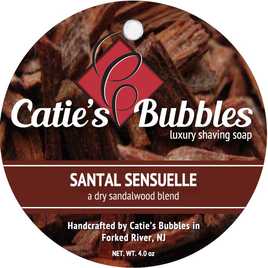 Catie's Bubbles - Santal Sensuelle - Soap image