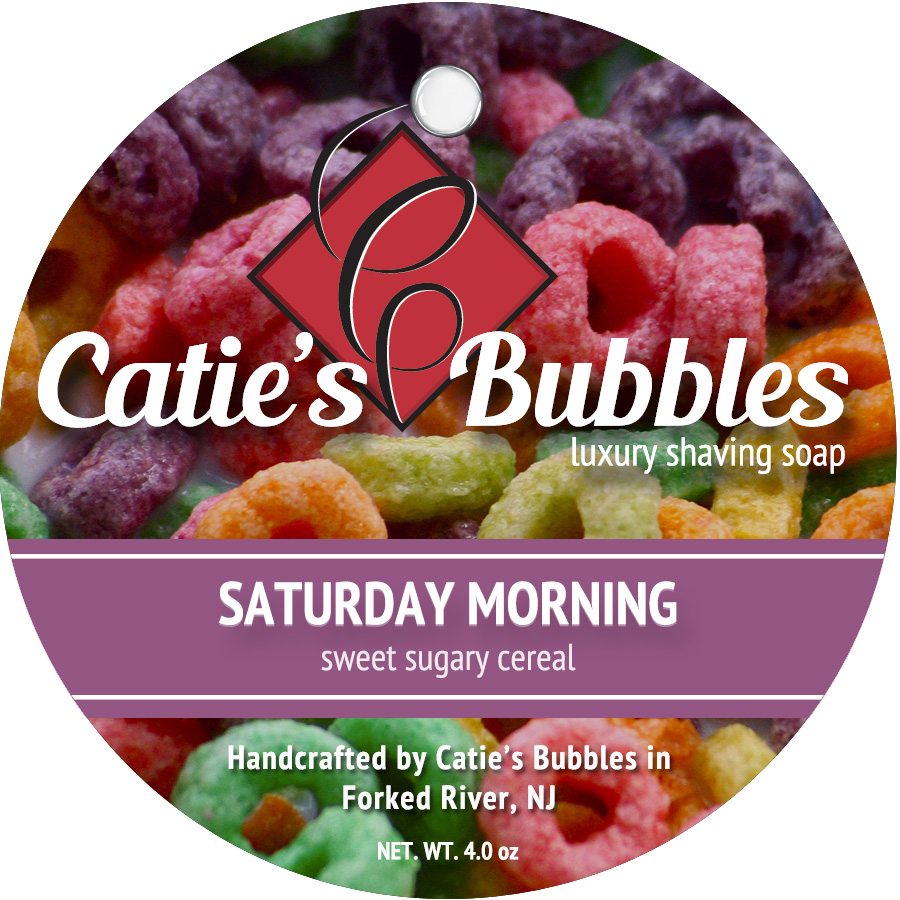 Catie's Bubbles - Catie's Bubbles - Saturday Morning - Soap image
