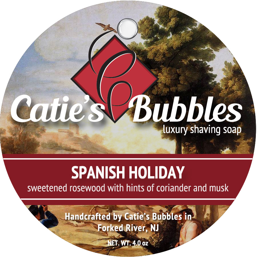 Catie's Bubbles - Catie's Bubbles - Spanish Holiday - Soap image