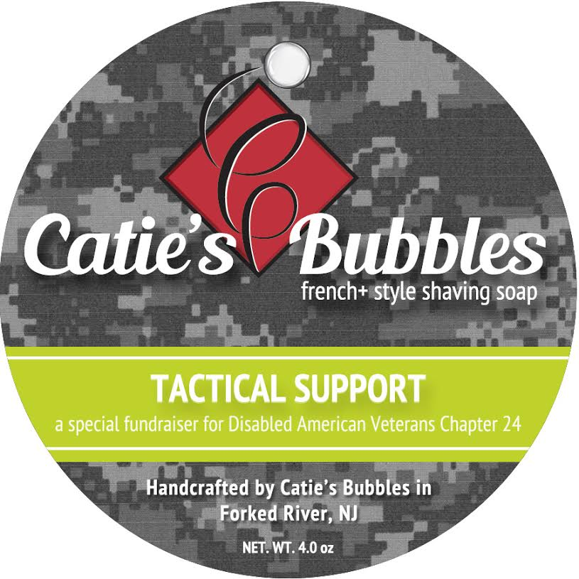 Catie's Bubbles - Tactical Support - Soap image