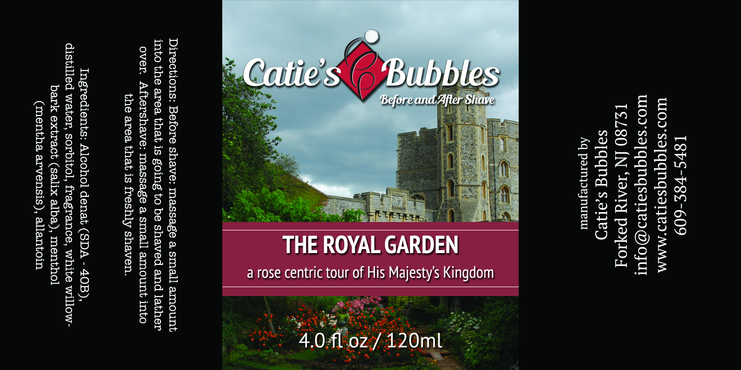 Catie's Bubbles - The Royal Garden - Aftershave image